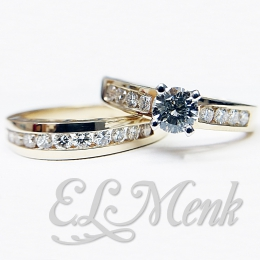Attractive Diamond Wedding Set