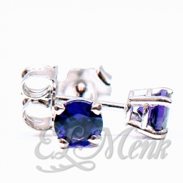 4.0mm Amethyst Earrings