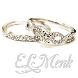 Gorgeous Infinity Inspired Wedding Set