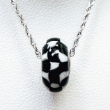 Checkerboard Bead Necklace
