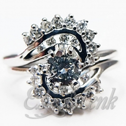 Beautiful Diamond Wedding Set