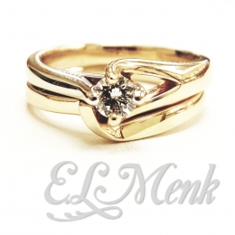 Beautiful Two Tone Wedding Set