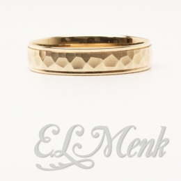 Mens Yellow Gold Band